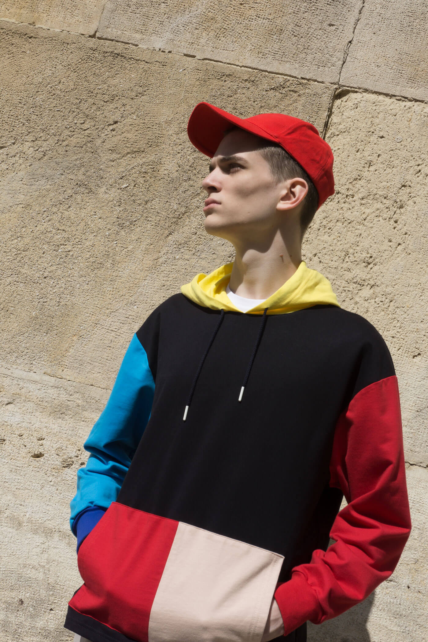 Model-Multicolour-Hoodie